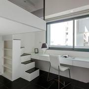 现代简约风格白色书房装修效果图赏析