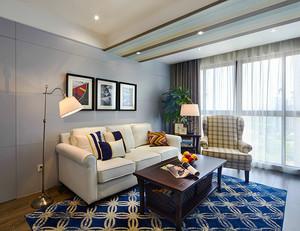 210平米美式風格精美復式樓室內裝修效果圖賞析
