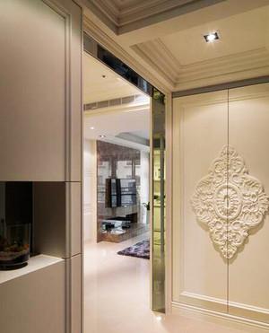 141平米欧式风格简约大户型室内装修效果图案例