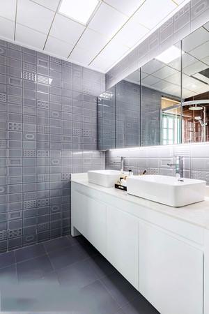 现代风格卫生间浴室柜设计装修效果图赏析