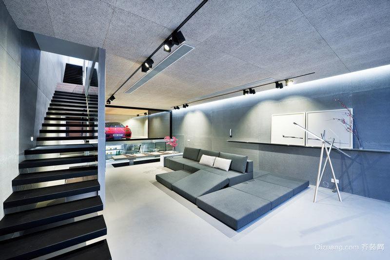 现代风格简约时尚楼梯设计装修效果图赏析