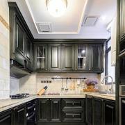 新古典主义风格大户型整体厨房装修效果图