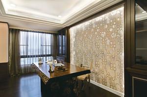 148平米中式风格古典精致大户型室内装修效果图案例