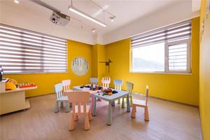 现代简约风格幼儿园教室装修效果图