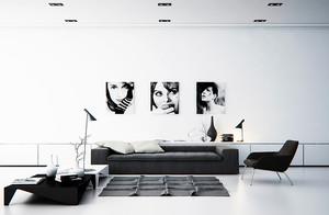 北欧风格简约时尚客厅装修效果图大全