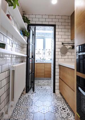 北欧风格简约时尚小户型厨房装修效果图