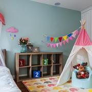北欧风格时尚儿童房装修效果图赏析