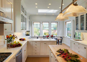 法式风格大户型室内精美厨房装修效果图赏析