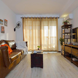 100平米复古风格时尚室内装修效果图案例