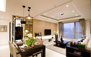 89平米简欧风格精美两室两厅室内装修效果图