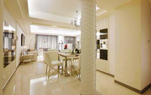 104平米简欧风格精美两室两厅室内装修效果图
