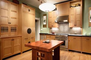日式风格简约整体厨房装修效果图赏析