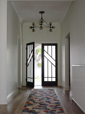 158平米现代简约风格复式楼室内装修效果图案例