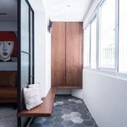 现代简约风格休闲阳台设计装修效果图