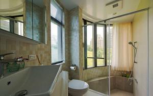 现代中式风格精致三室两厅室内装修效果图赏析