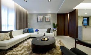 80平米新中式风格精美室内装修效果图案例