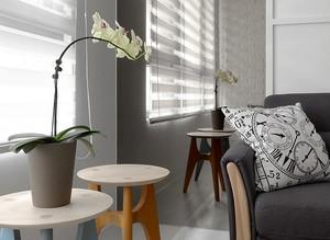 68平米宜家风格简约一居室装修效果图案例