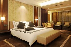 现代风格精致宾馆客房设计装修效果图赏析