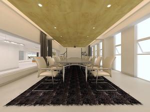 现代简约风格时尚中型会议室装修效果图鉴赏