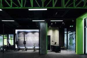 现代风格健身房设计装修效果图