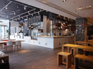 宜家风格简约温馨咖啡厅装修效果图