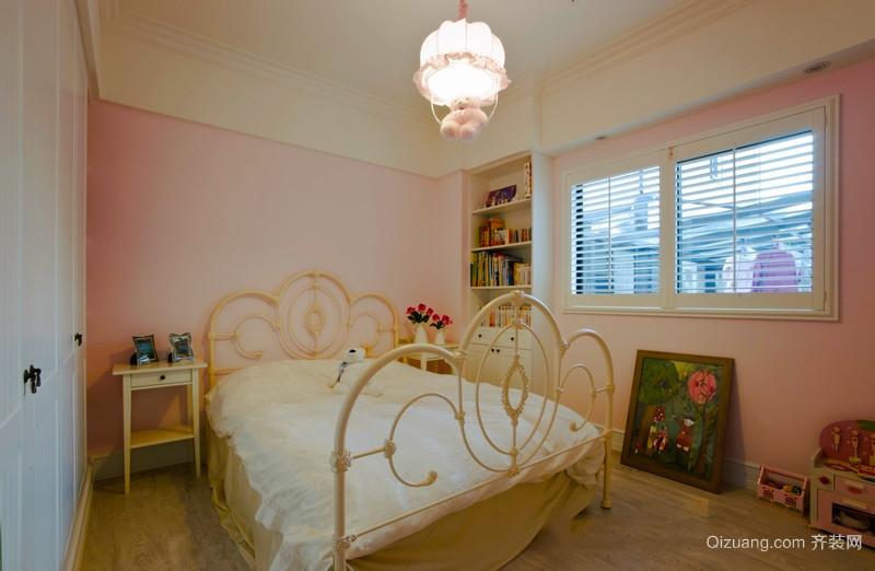 简欧风格简约温馨儿童房设计装修效果图赏析