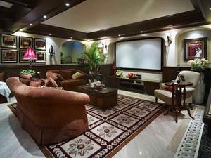 270平米美式风格精致别墅室内装修效果图案例