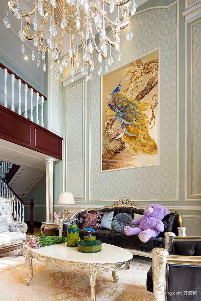 242平米欧式风格精美奢华别墅室内装修效果图