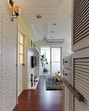 81平米田园风格简约两室两厅室内装修效果图