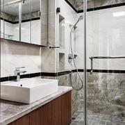 现代风格精致卫生间淋浴房设计装修效果图赏析