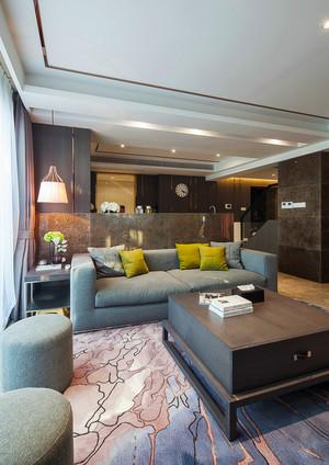 180平米现代风格精致复式楼室内装修效果图案例