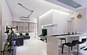 64平米现代风格一居室小户型装修实景图鉴赏