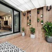 现代风格精美封闭式阳台装修效果图赏析