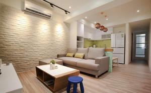 宜家风格简约温馨小户型客厅装修效果图赏析