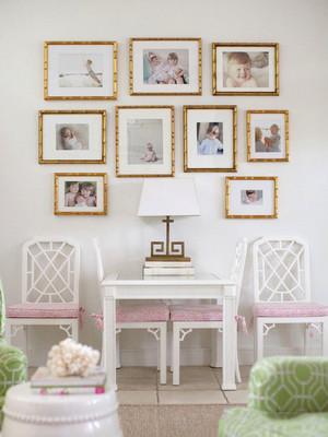 欧式风格精美温馨照片墙装修效果图欣赏