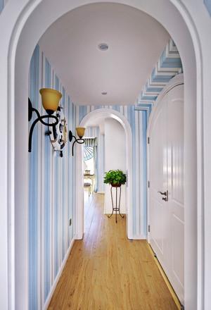 地中海风格别墅室内精美过道装修效果图