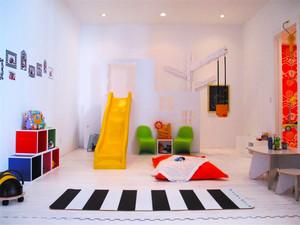 现代风格时尚可爱儿童房装修效果图大全
