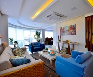 186平米混搭风格时尚复式楼室内装修效果图欣赏