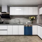 简约风格两居室整体厨房装修效果图赏析