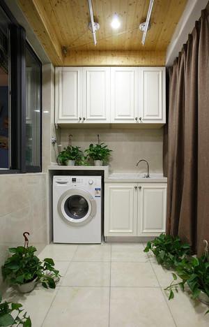 97平米美式风格精致两室两厅室内装修效果图赏析