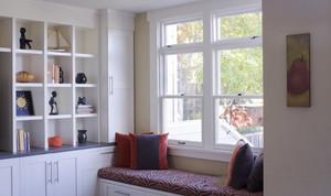 美式风格精美时尚飘窗设计装修效果图