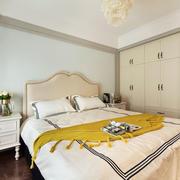 欧式风格浅色温馨卧室装修效果图欣赏