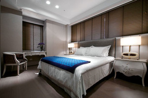 30平米欧式风格精美卧室装修效果图欣赏