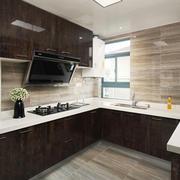 12平米现代风格厨房装修效果图