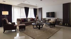 138平米现代风格精致大户型室内装修效果图赏析