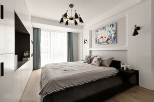 30平米现代简约风格卧室装修效果图欣赏