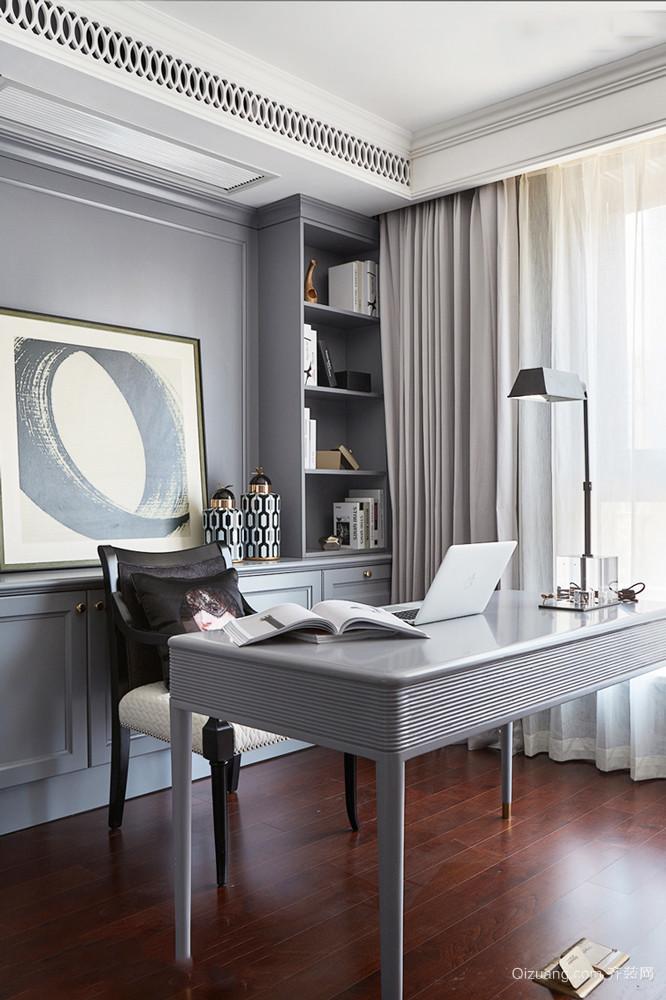新古典主义风格精致书房设计装修效果图赏析