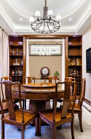 中式风格古典雅韵实木餐厅装修效果图欣赏