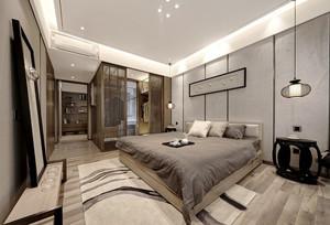 新中式风格清新淡雅卧室装修效果图欣赏