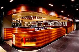 后现代风格精致时尚酒吧吧台设计装修效果图